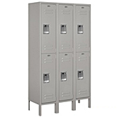 Double Tier Standard Metal Lockers