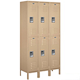 Extra Wide Standard Metal Lockers