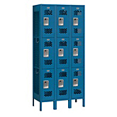 Extra Wide Vented Metal Lockers