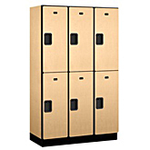 Extra Wide Designer Wood Lockers